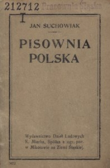 Pisownia polska. Krótkie wskazówki i prawidła z uwzględnieniem ostatnich uchwał Akademji Umiejętności w Krakowie z dnia 5/15 stycznia 1918 roku