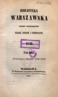Biblioteka Warszawska, 1846, T. 2