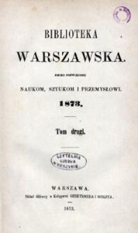 Biblioteka Warszawska, 1873, T. 2