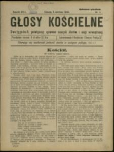 Głosy Kościelne, 1925, Nry 1-15