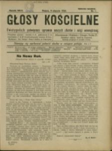 Głosy Kościelne, 1926, Nry 1-24