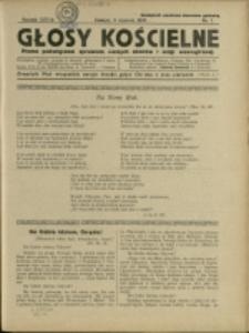 Głosy Kościelne, 1936, Nry 1-24