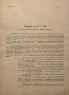 Legiony czy P. O. W. (Odczyt podpułkownika Berbeckiego)