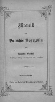 Chronik der Parochie Pogrzebin