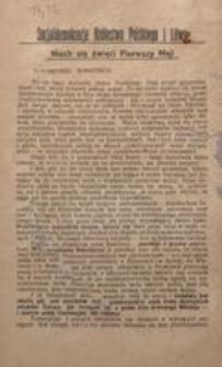 Towarzysze! Robotnicy! Warszawa, w kwietniu 1917 r. Komitet Warszawski Socjaldemokracji Królestwa Polskiego i Litwy