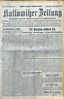 Kattowitzer Zeitung, 1928, Jg. 60, nr21