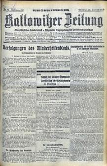 Kattowitzer Zeitung, 1928, Jg. 60, nr42