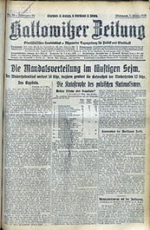 Kattowitzer Zeitung, 1928, Jg. 60, nr55