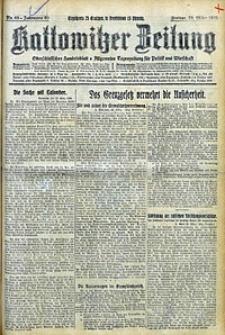 Kattowitzer Zeitung, 1928, Jg. 60, nr69