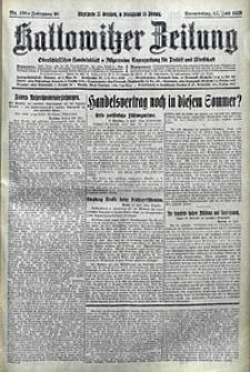 Kattowitzer Zeitung, 1928, Jg. 60, nr159