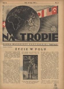 Na Tropie, 1937, R. 10, nr 3