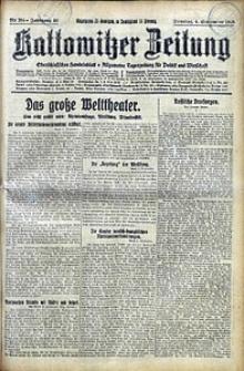 Kattowitzer Zeitung, 1928, Jg. 60, nr204