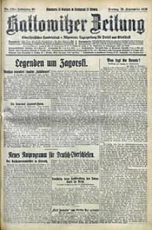 Kattowitzer Zeitung, 1928, Jg. 60, nr225