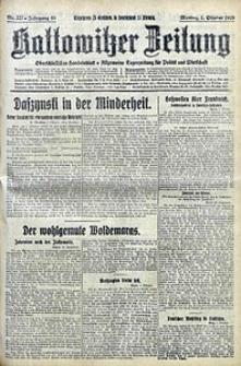 Kattowitzer Zeitung, 1928, Jg. 60, nr227