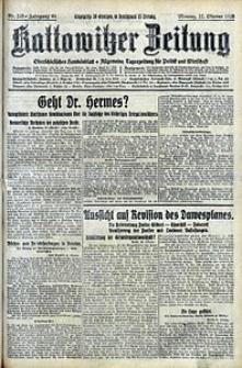 Kattowitzer Zeitung, 1928, Jg. 60, nr245
