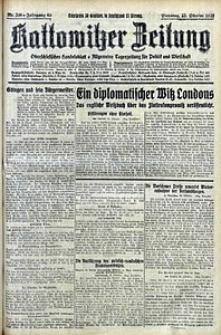 Kattowitzer Zeitung, 1928, Jg. 60, nr246