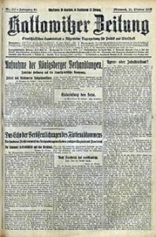 Kattowitzer Zeitung, 1928, Jg. 60, nr247