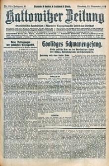 Kattowitzer Zeitung, 1928, Jg. 60, nr263