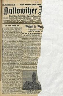 Kattowitzer Zeitung, 1928, Jg. 60, nr297