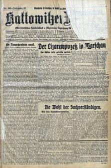 Kattowitzer Zeitung, 1928, Jg. 60, nr300