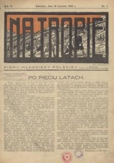 Na Tropie, 1933, R. 6, nr 1