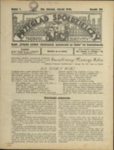 Przegląd Spółdzielczy, 1936, Nry 1-12