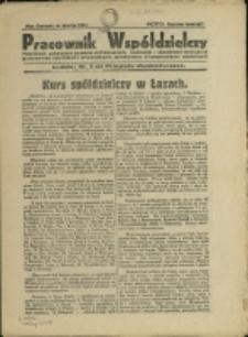 Pracownik Współdzielczy, 1931, Nry 3, 6-7, 9, 11