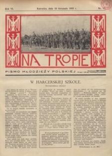 Na Tropie, 1933, R. 6, nr 17