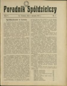 Poradnik Spółdzielczy, 1931, Nry 1-12
