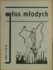 Głos Młodych : pismo młodzieży szkół średnich, 1937/38, Nry 1-2