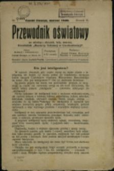 """Przewodnik Oświatowy : kwartalnik """"Macierzy Szkolnej w Czechosłowacji"""", 1930, Nry 1-4"""