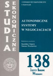Autonomiczne systemy w negocjacjach