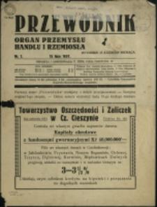 Przewodnik : organ przemysłu, handlu i rzemiosła, 1937, Nry 1, 6