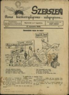 Szerszeń : pismo humorystyczno-satyryczne, 1935, Nry 1-23