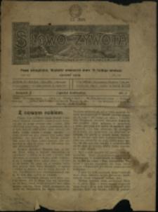 Słowo Żywota : pismo ewangelickie, 1919, Nry 1-2, 4, 7-8, 10-12