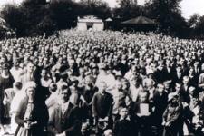Msza w Kościele Narodowym w Dąbrowie Górniczej