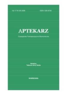 Aptekarz, 2009, Vol. 17, nr5/6