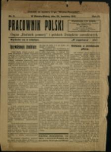 """Pracownik Polski : organ """"bratnich pomocy"""" i polskich związków zawodowych, 1912, Nry 3, 6"""