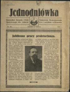 Jednodniówka : komunikat Zarządu i Rady Nadzorczej Stowarzyszenia Spożywczego dla Robotników i Rolników w Stonawie, 1930, Nr 20