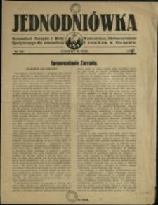 Jednodniówka : komunikat Zarządu i Rady Nadzorczej Stowarzyszenia Spożywczego dla Robotników i Rolników w Stonawie, 1937, Nr 30