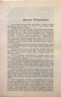 Bracia Włościanie! Wacław Dunin Dawny Wice Prezes Zarządu Polskiego Stronnictwa Ludowego