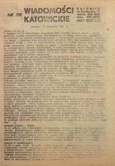 Wiadomości Katowickie, 1981, nr7/8
