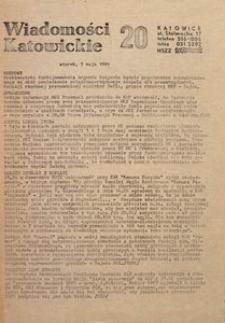 Wiadomości Katowickie, 1981, nr20