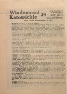 Wiadomości Katowickie, 1981, nr29