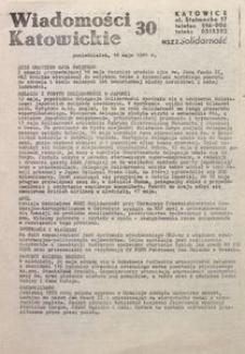 Wiadomości Katowickie, 1981, nr30