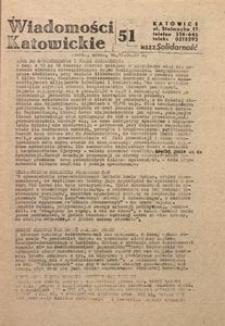 Wiadomości Katowickie, 1981, nr51