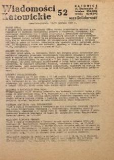 Wiadomości Katowickie, 1981, nr52