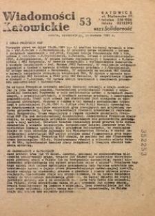 Wiadomości Katowickie, 1981, nr53