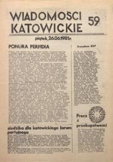 Wiadomości Katowickie, 1981, nr59