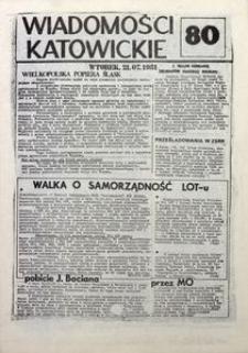 Wiadomości Katowickie, 1981, nr80